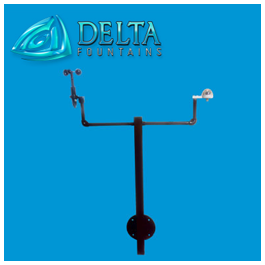 Mounted Rain Sensor and Anemometer