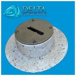 Round Deck Jet Nozzle