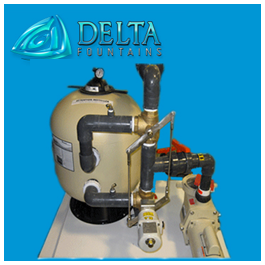 Sand Filter with Auto Backwash Linkage