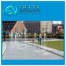 Scrim and Interactive Water Features