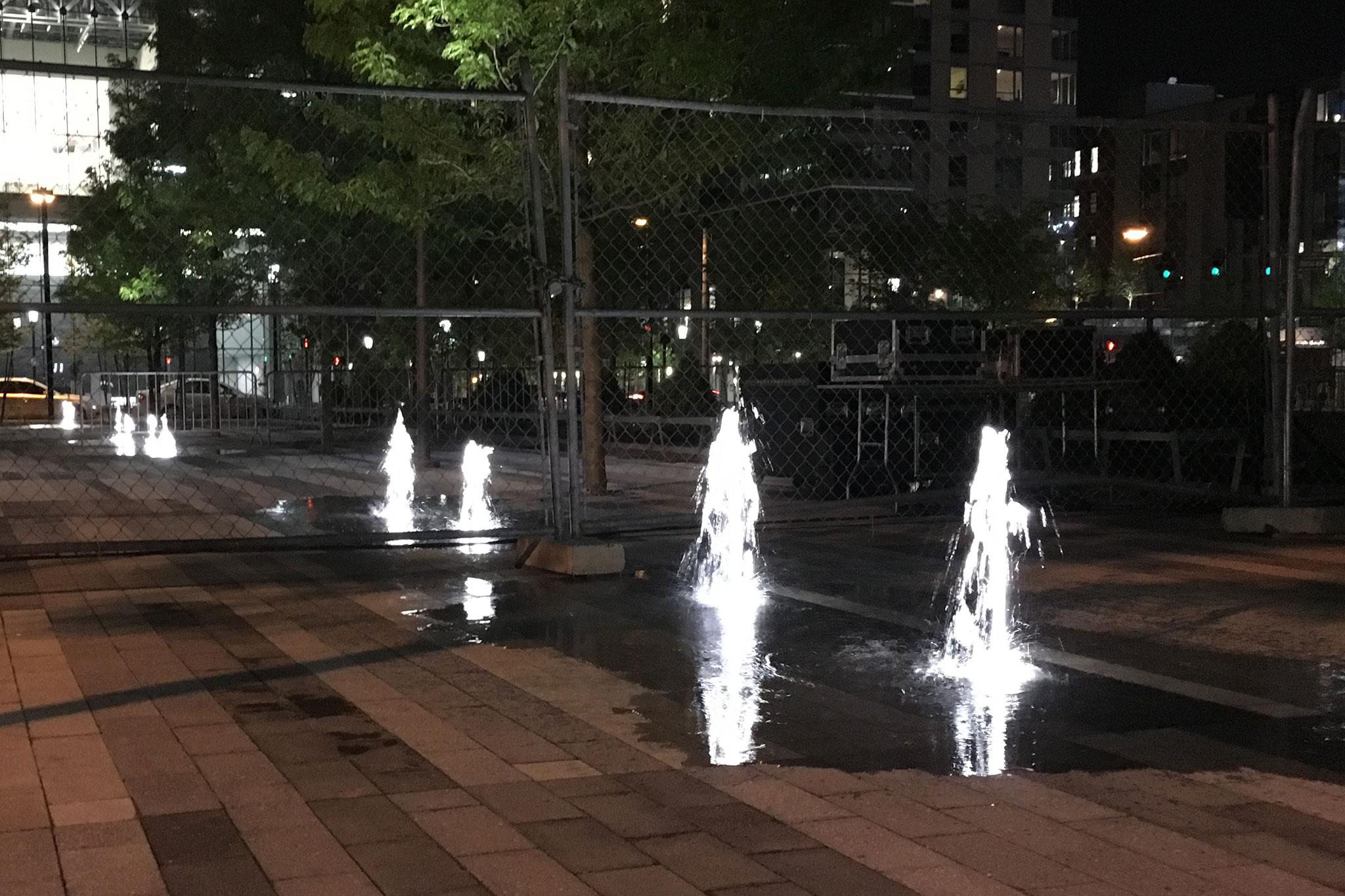 Seaport Interactive Fountain