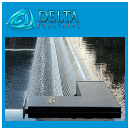 September 11 Memorial Water Fall Fountain Design
