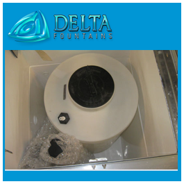 Shipping Water Chemical Containment Tank Delta Fountains