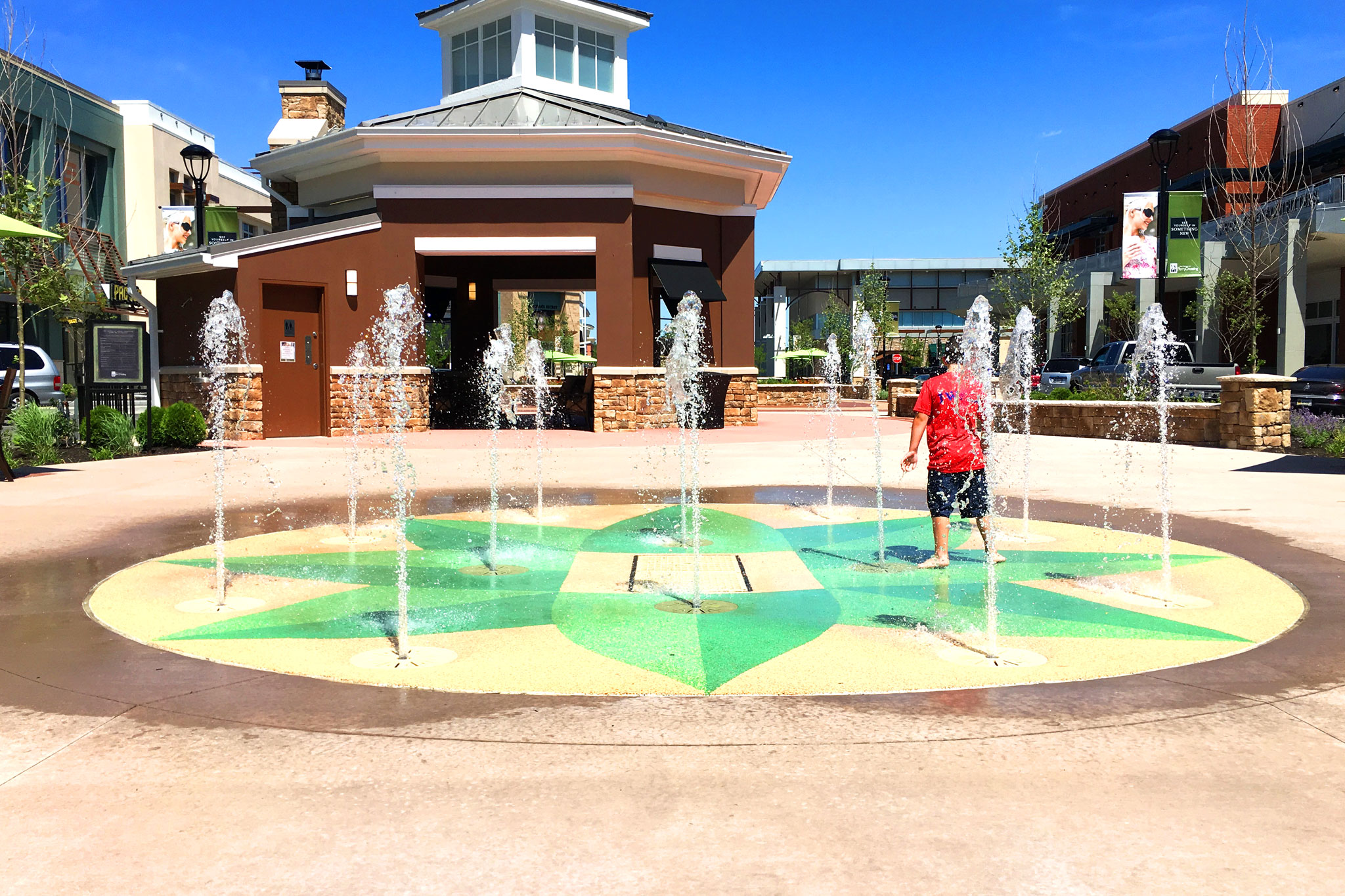 Shops at Perry Crossing - Kids Splash Pad
