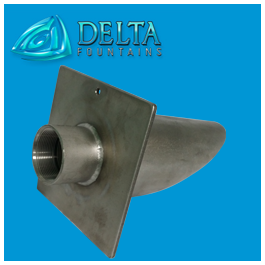 Sidewall Niche with Drain Pipe | Delta Fountains