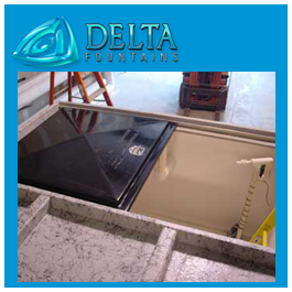 Sliding Vault Hatch Delta Fountains