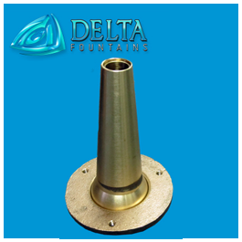 Smooth Bore Fountain Nozzle Delta Fountains Manufacturing