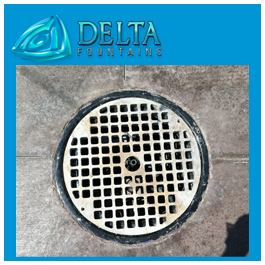 Spray Nozzle Metal Grate