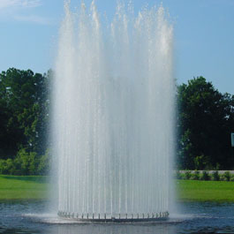 Spray Ring Floating Fountain