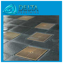 Square Fountain Grates