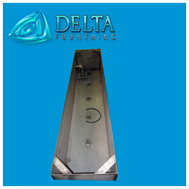 Stainless Steel Basin Linear | Delta Fountains