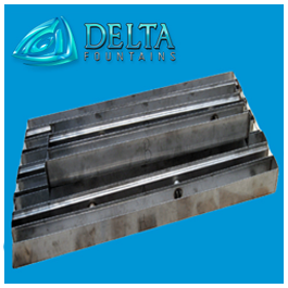 Stainless Steel Discharge Trough