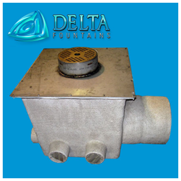 Stainless Steel and Fiberglass Nozzle Well