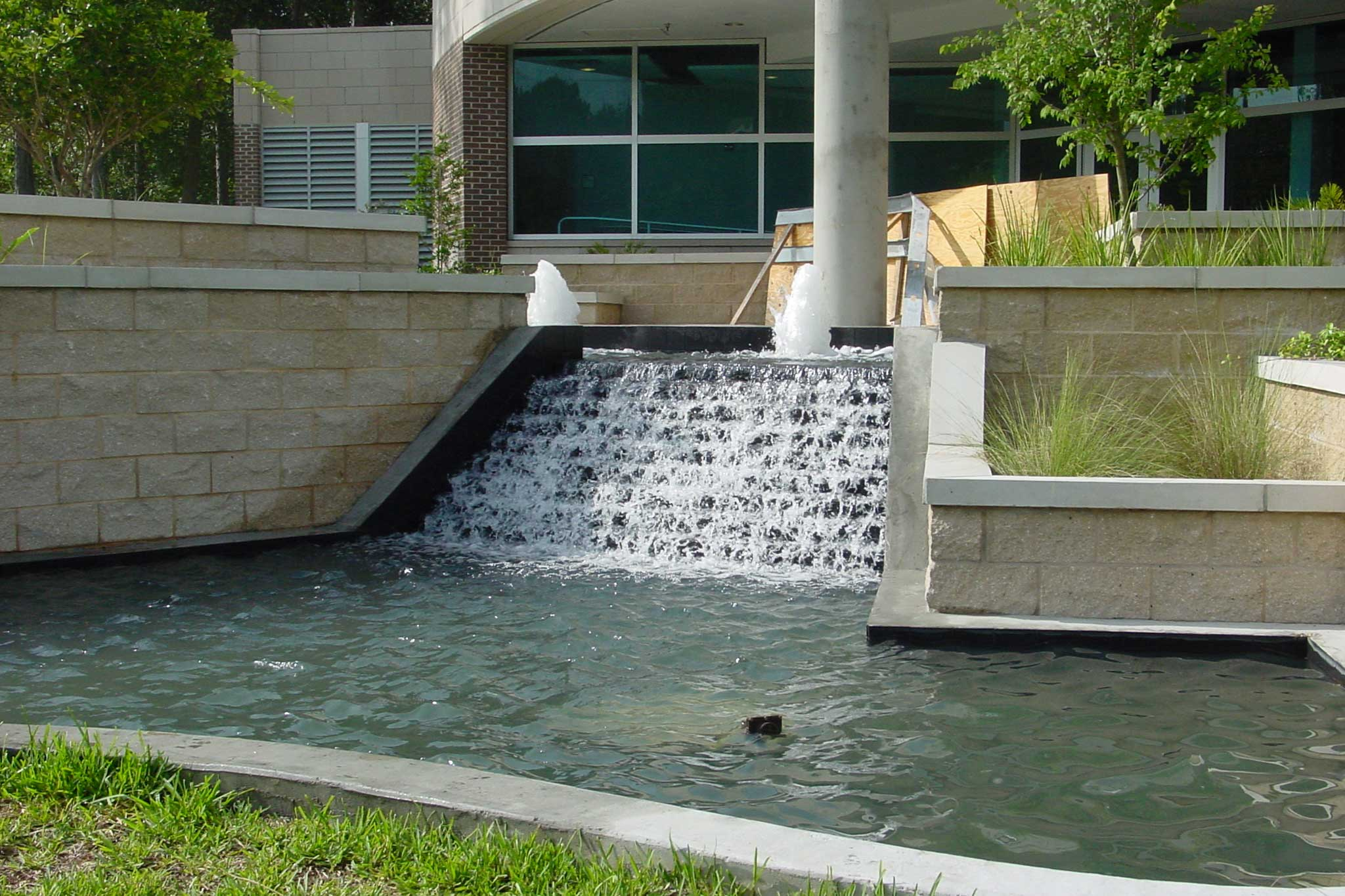 UNF Science Building Stair-Step Fountain - Delta Fountains