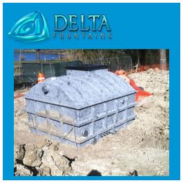 Subterranean Equipment Vault - Fountain Vaults - Delta Fountains
