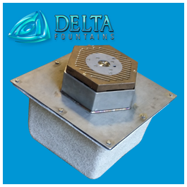 Floor Activation Button Sump | Delta Fountains