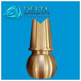 V Jet Nozzle |Delta Fountains