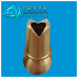 V Jet Fountain Nozzle