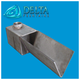 V Style Scupper Stainless Steel