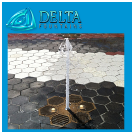 Steeplechase Plaza Interactive Fountain at Coney Island