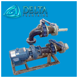 Water Feature Pump Skid