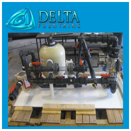 Filter Pump Skid | Delta Fountains