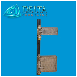 Water Level Sensor Mount Delta Fountains