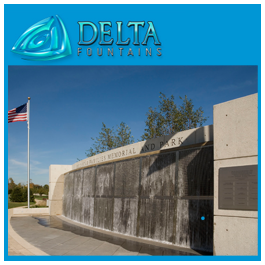 Water Screen Gold Star Memorial