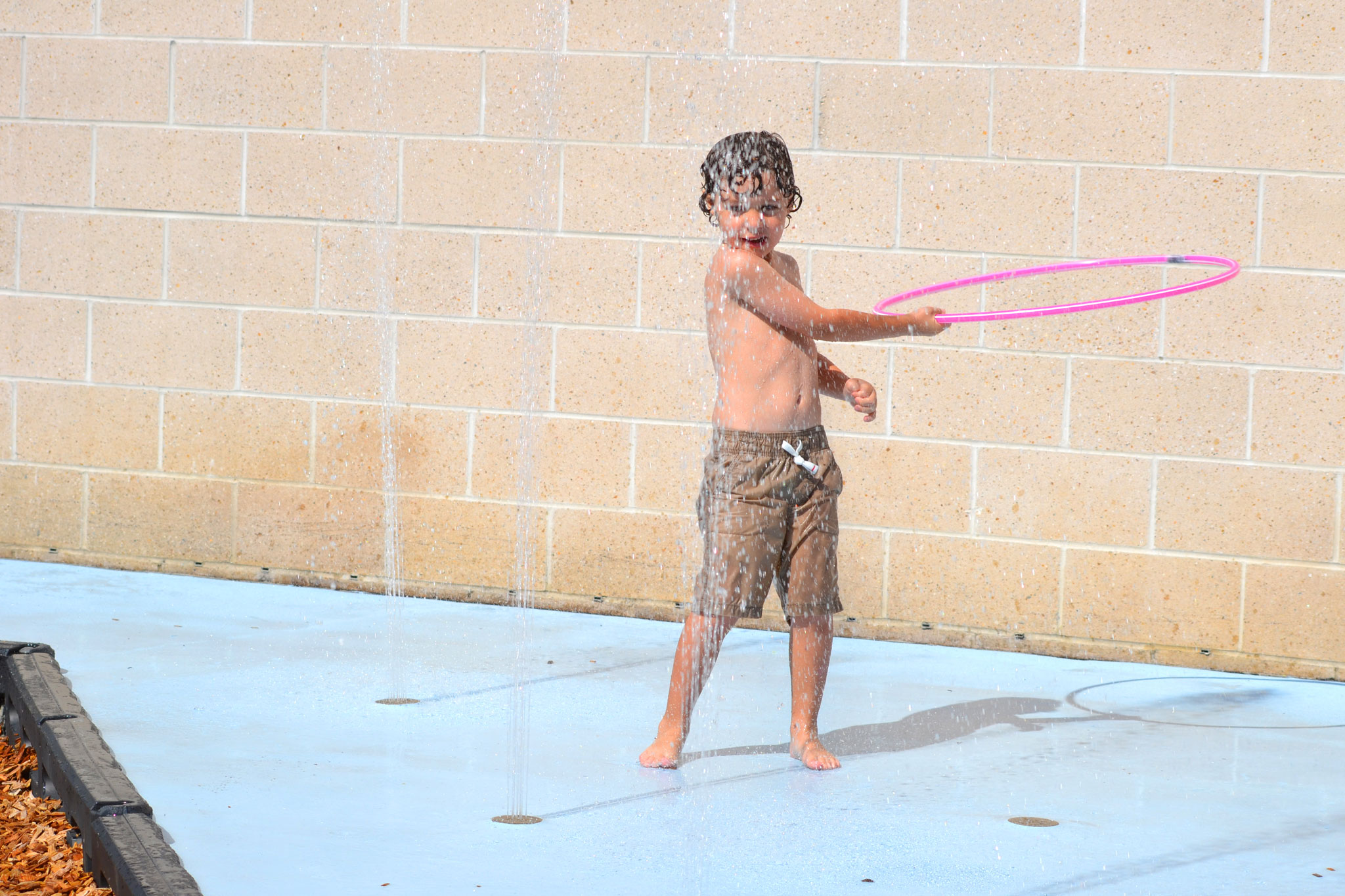 Water Splash Park Design and Controls