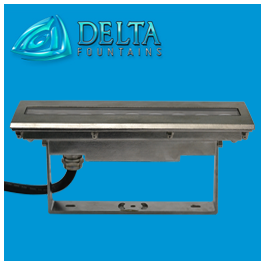 Waterproof RGB LED Linear Light | Delta Fountains
