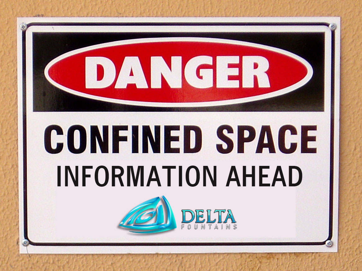 confined space information by delta fountains