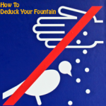 how to de duck your fountain