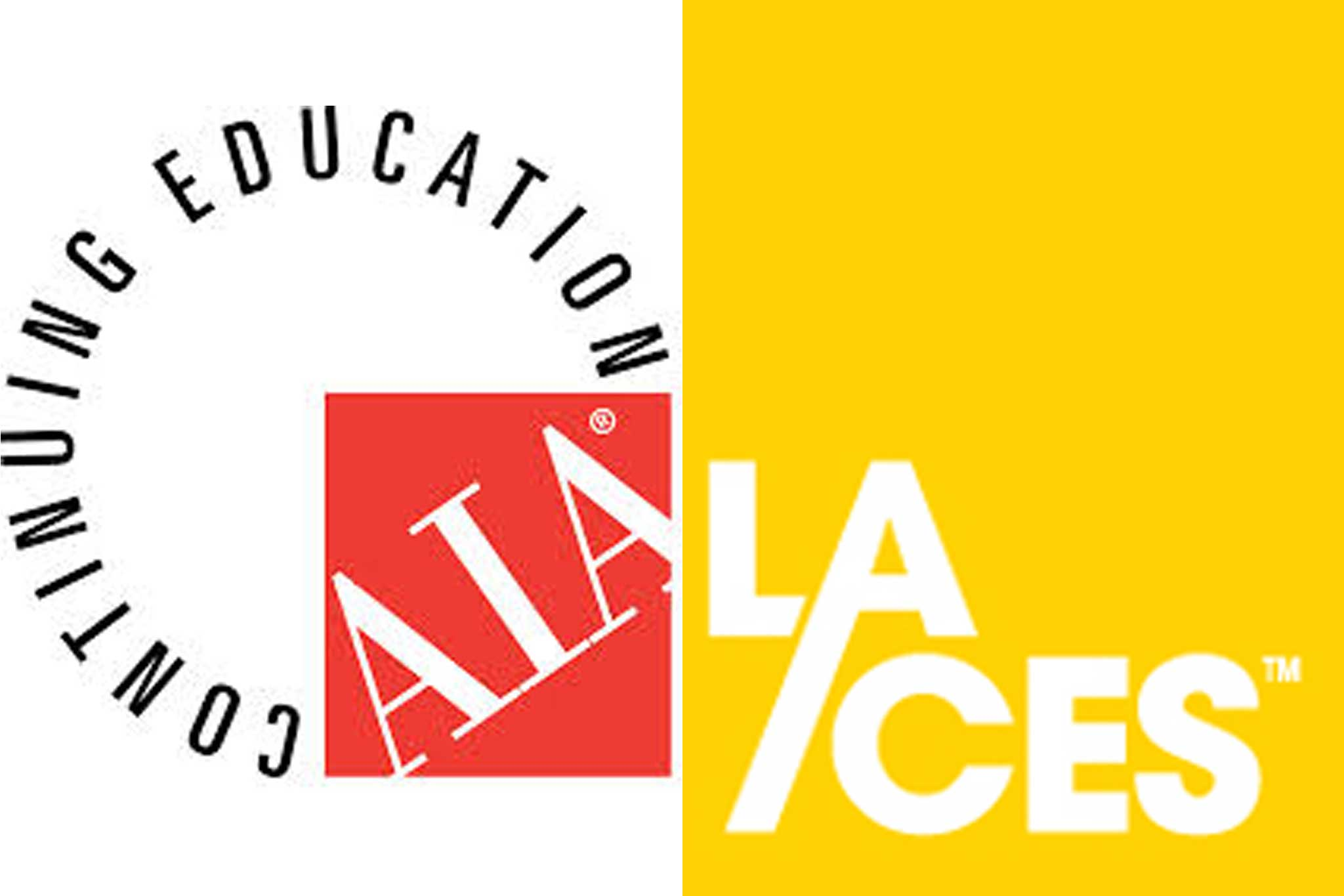 AIA and LACES seminars and continuing education