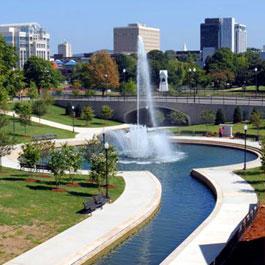 Big Spring Park Fountain Design