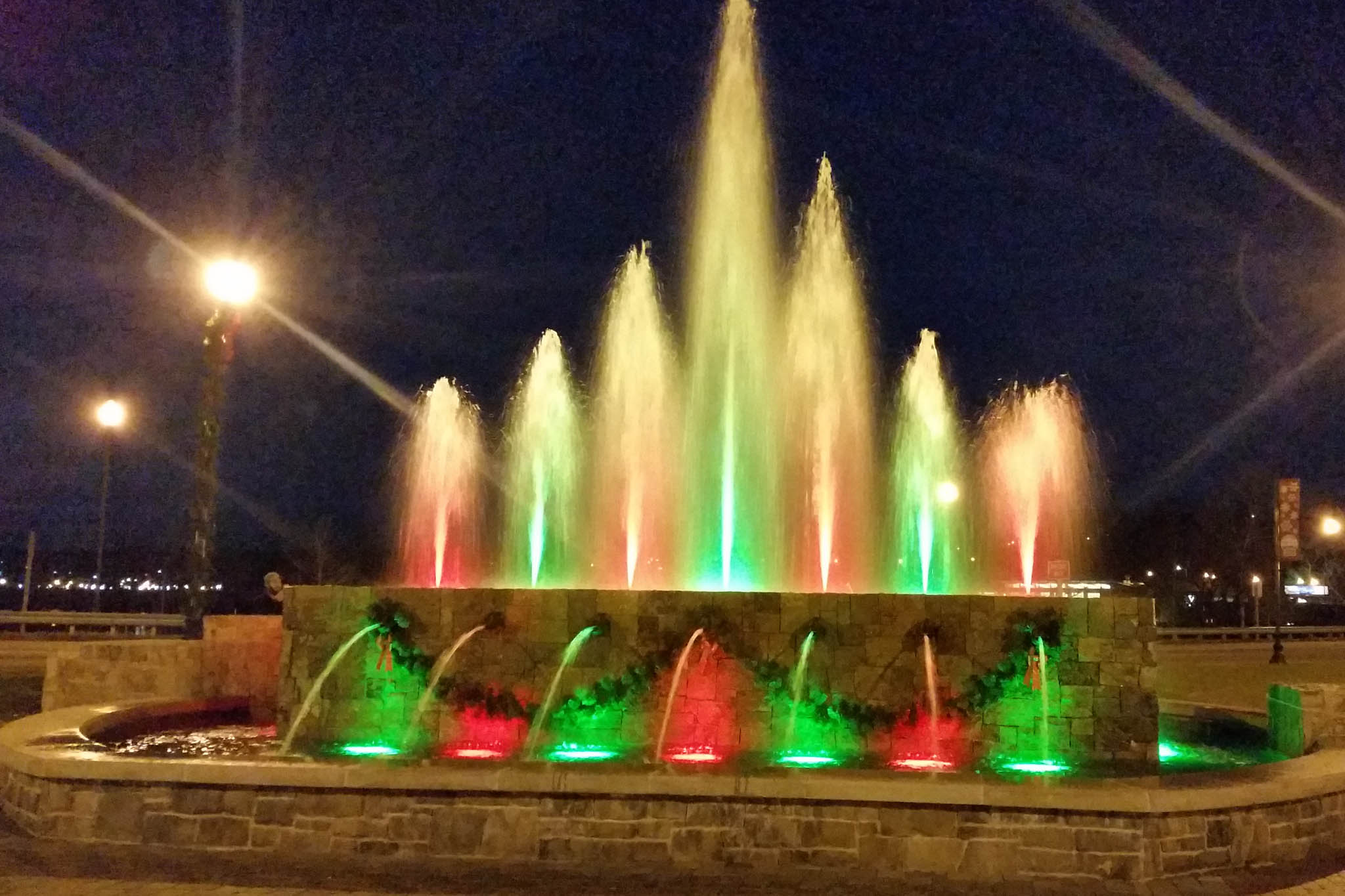 Danville Riverfront Design | Delta Fountains