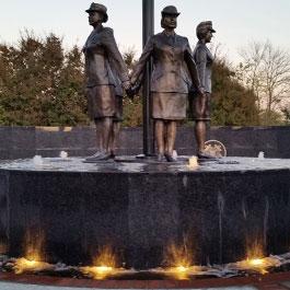 Del City  Veterans Women Memorial