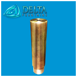 Finger Jet Smooth Bore Nozzle Bronze