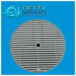 Delta Fountain Manufacturer Metal Round Grate