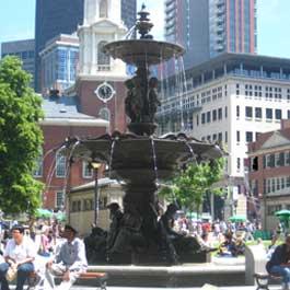 Brewer Fountain Restoration