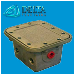 Delta Fountains Deck Box