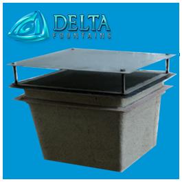 Delta Fountains Discharge Sump Fiberglass