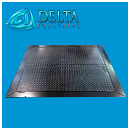 Delta Fountains Double Door Aluminum Hatch