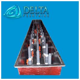 Delta Fountains Fiberglass Trough