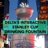 Delta Fountains Interactive Stanley Cup Drinking Fountain