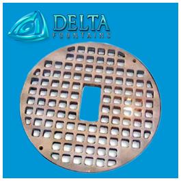 Delta Fountains Round Grate