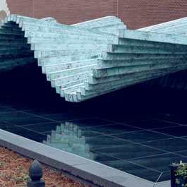 SMU Calatrava's Wave Reflecting Pool