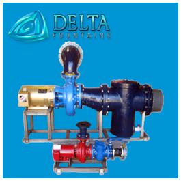 Delta Fountains Water Feature Pump Skid