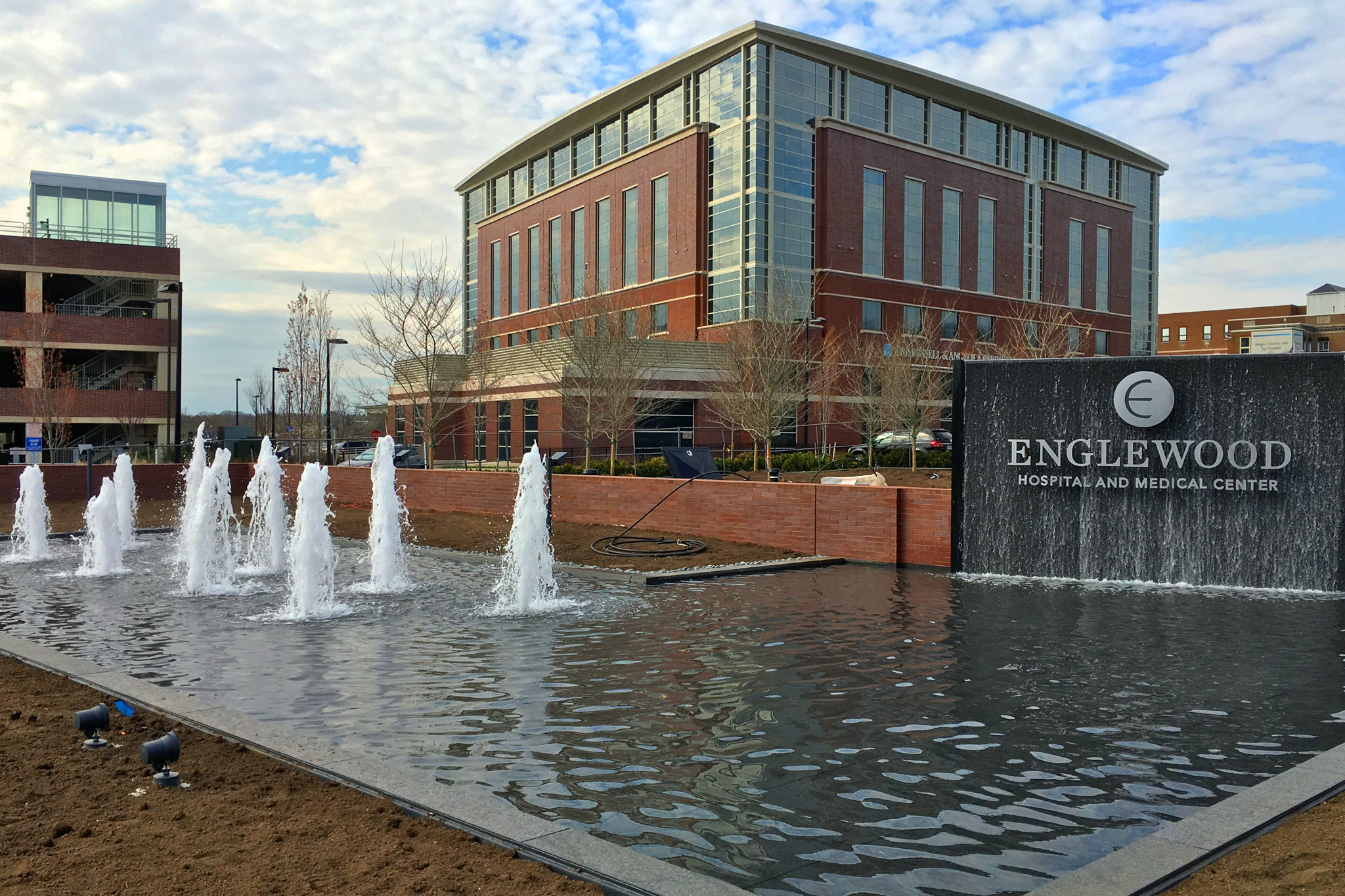 Englewood Hospital Delta Fountains