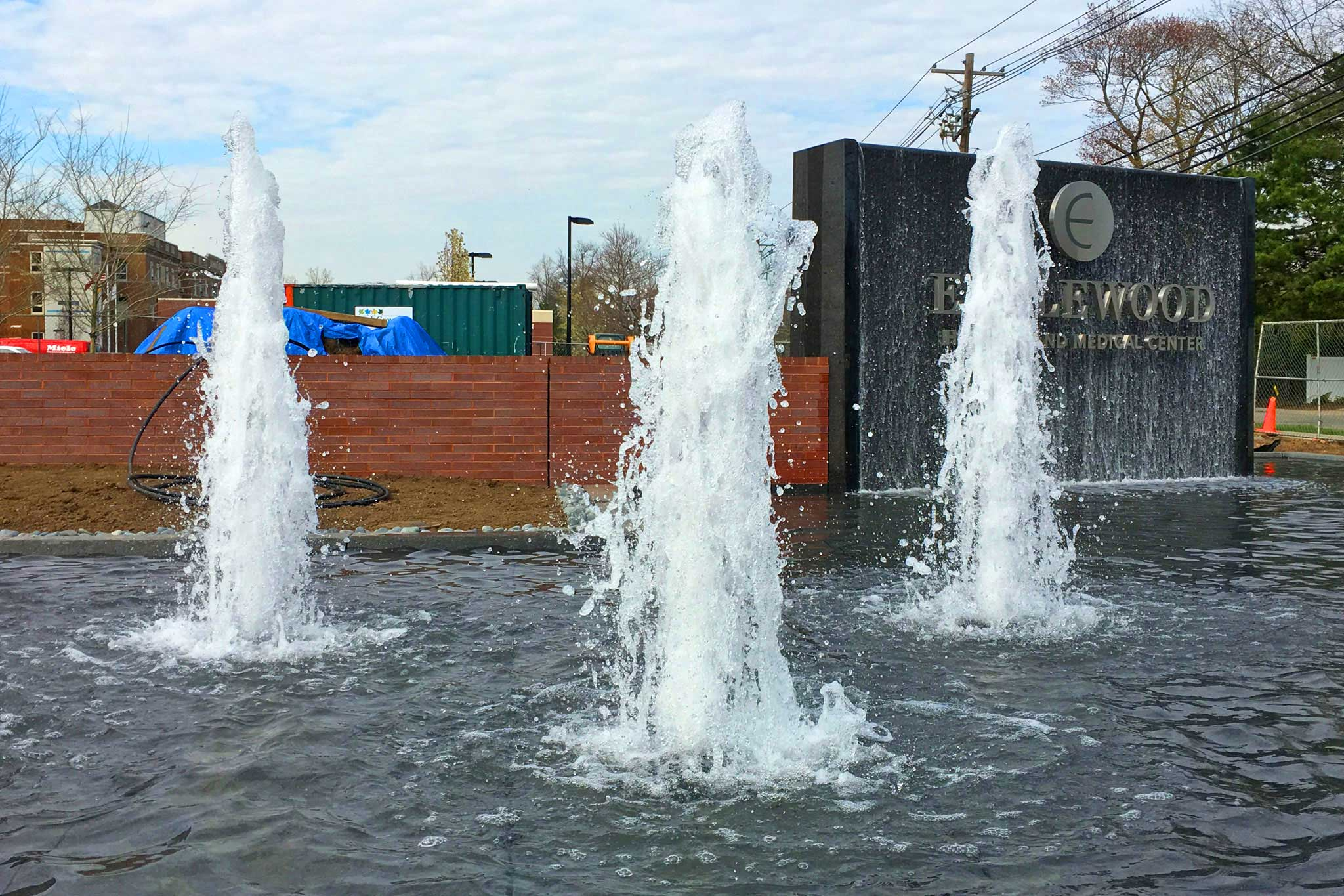 Geyser Nozzle Entrance Water Feature