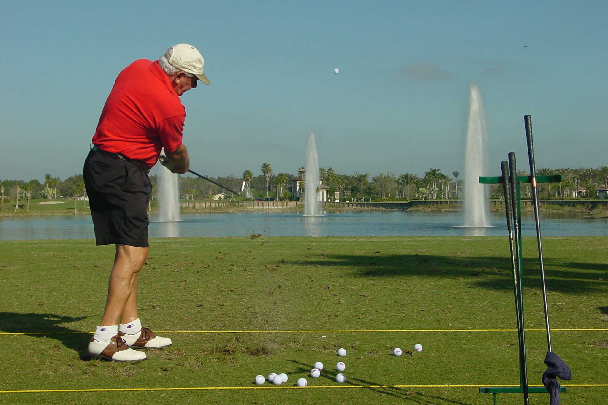 Floating Fountains for Golf Courses
